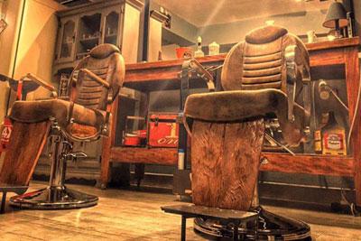 Salão de Cabeleireiro para Homens